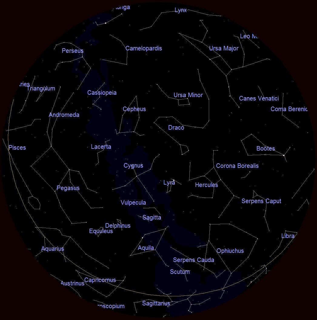 The Summer Constellations